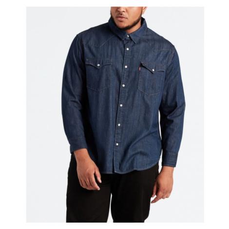 Džínová košile Levi´s® Big Classic Western Core pánská tmavě modrá