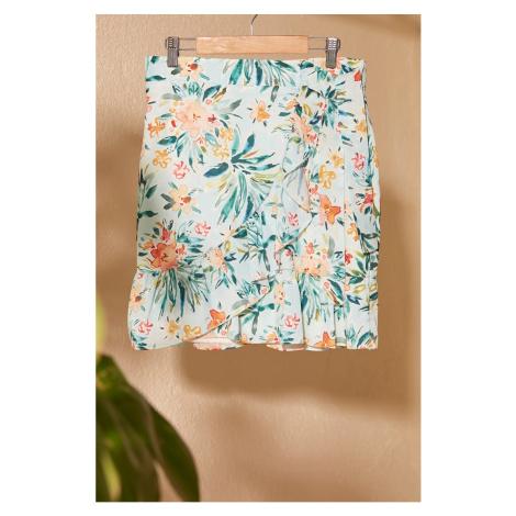 Dámská sukně Trendyol Multicolored
