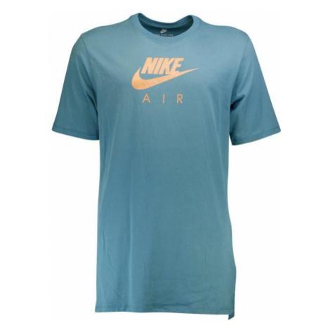 Tričko Nike Air Heritage Virus Modrá / Bronzová