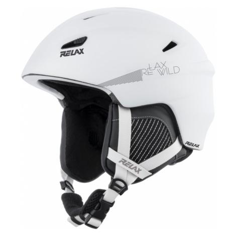 RELAX WILD Lyžařská helma RH17B bílá