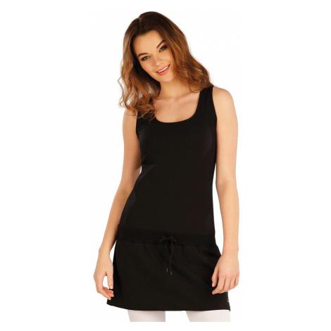 LITEX Šaty dámské bez rukávu 5A384901 černá