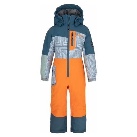 KILPI Chlapecká lyžařská kombinéza PONTINO-JB NJ0006KIORN Oranžová