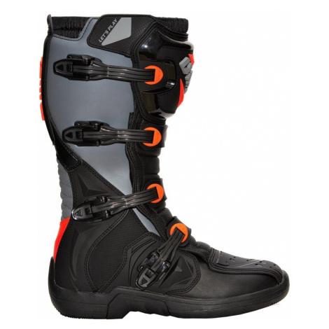 Motokrosové boty iMX X-Two černo-šedo-oranžová