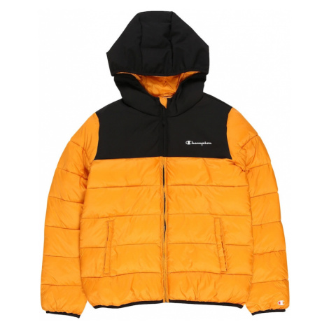 Champion Authentic Athletic Apparel Zimní bunda zlatě žlutá / černá
