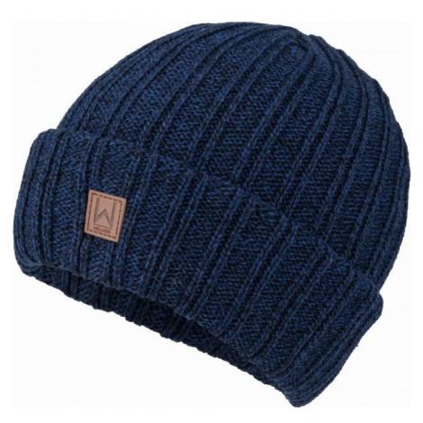 Willard CANAR tmavě modrá - Pánská pletená čepice