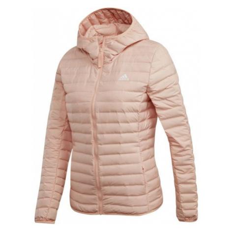 adidas VARILITE SOFT H světle růžová - Dámská bunda