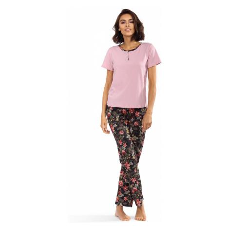 Dámské pyžamo P-1517 růžová Lorin