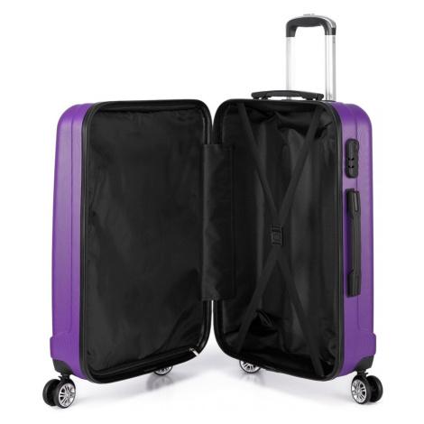 Fialový cestovní kvalitní malý kufr Corbin Lulu Bags