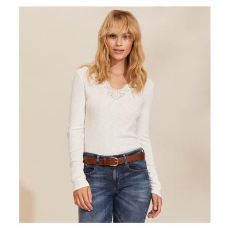 Tričko Odd Molly Emma L/S Top - Bílá
