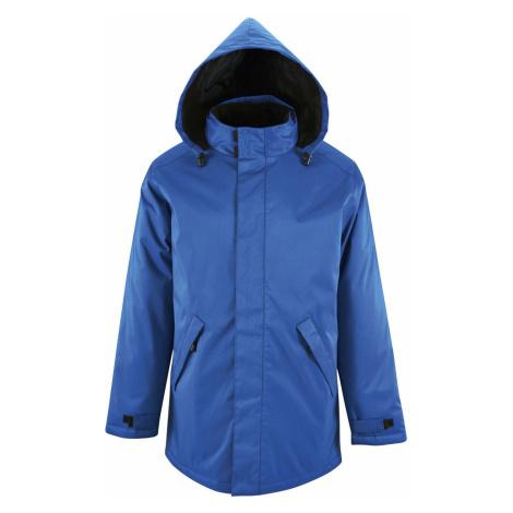 SOĽS Pánský kabát ROBYN 02109241 Royal blue SOL'S