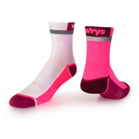 Ponožky Vavrys Trek Cyklo 2-pack růžová-bílá