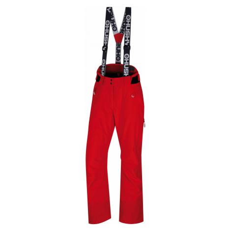 Husky Mitaly L, červená Dámské lyžařské kalhoty