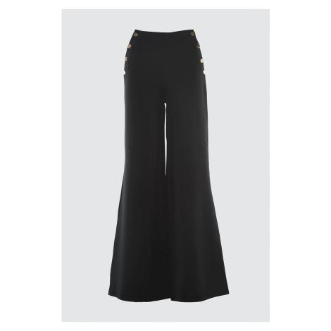 Trendyol Black Button Detail Pants