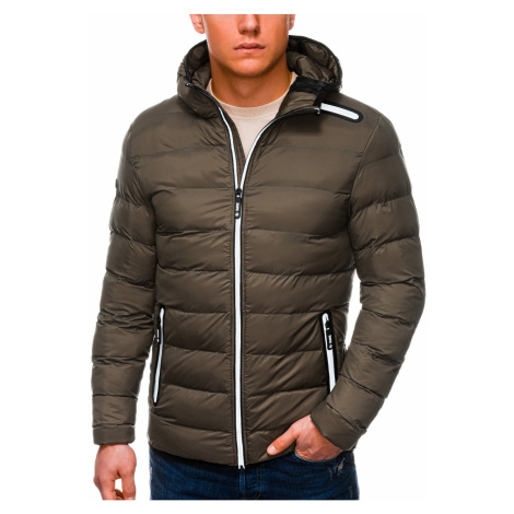 Ombre Clothing Men's winter quilted jacket C451