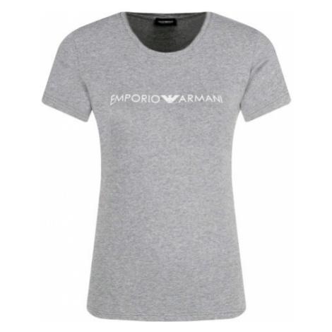 Armani Emporio Armani dámské šedé tričko