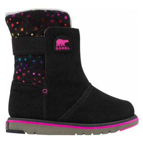Sorel YOUTH RYLEE černá - Dívčí zimní obuv