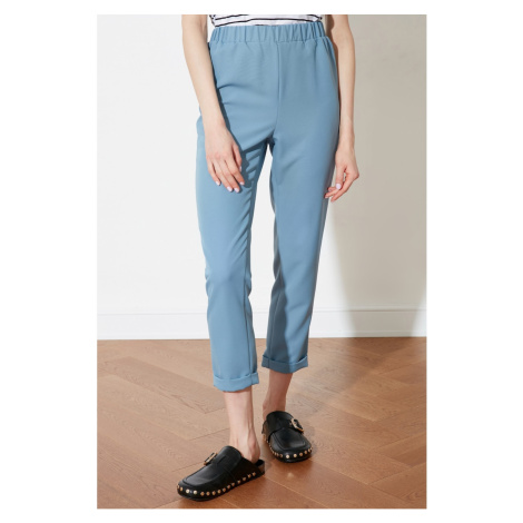 Trendyol Blue High Waist Pants