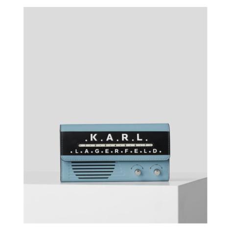 Peněženka Karl Lagerfeld Ikon Radio Cont Flap Wt