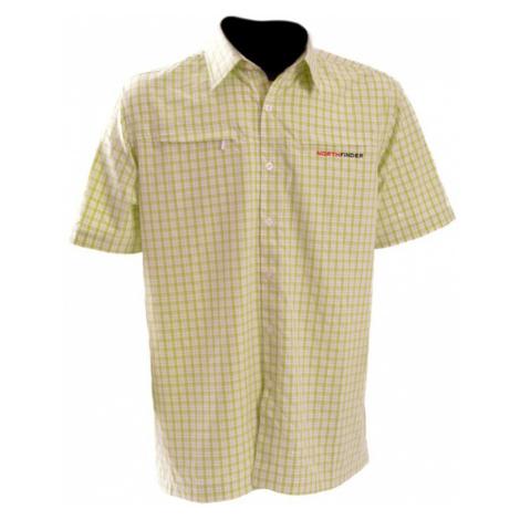 NORTHFINDER DIEGO Pánská košile KO-3015OR5080 trávově zelená