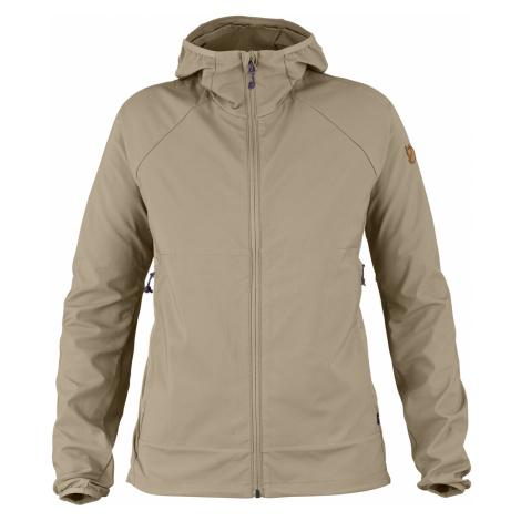 Dámská bunda FJÄLLRÄVEN Abisko Hybrid Breeze Jacket W, Limestone Fjällräven