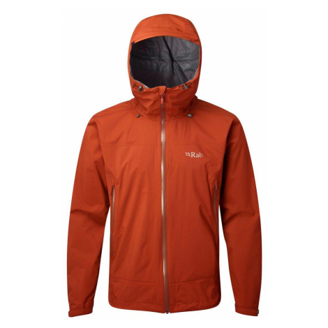 Rab Downpour Plus Jacket firecracker