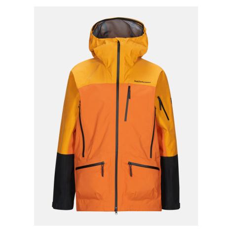 Bunda Peak Performance M Vislight Pro Jacket - Oranžová