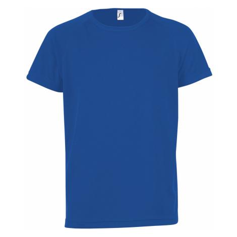 SOĽS Dětské funkční triko SPORTY KIDS 01166241 Royal blue SOL'S