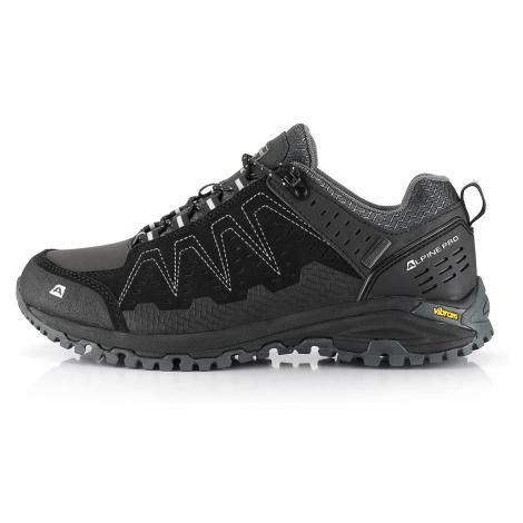 Outdoorová obuv Alpine Pro CHEFORNAK - černá
