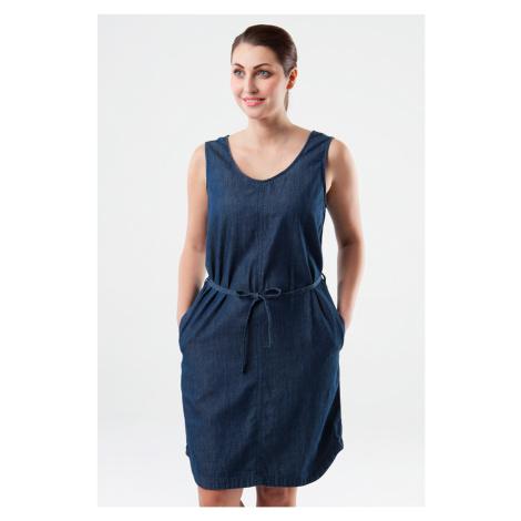 Dámské modré šaty LOAP Neyla
