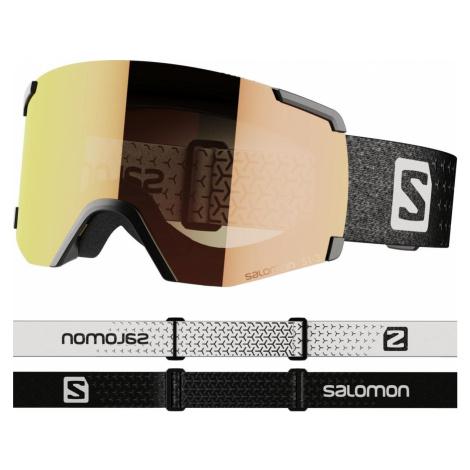 Lyžařské brýle Salomon S/view Photo - černá