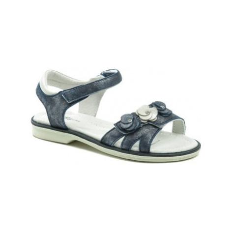 Wojtylko 3S2420 modré dívčí sandálky Modrá