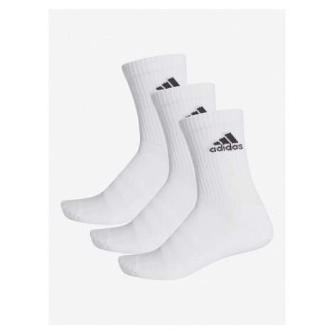Ponožky adidas Performance Cush Crw 3Pp Černá