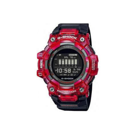 """Casio G-Shock GBD 100SM-4A1ER """"Skeleton Bezel Series"""" černé / červené"""