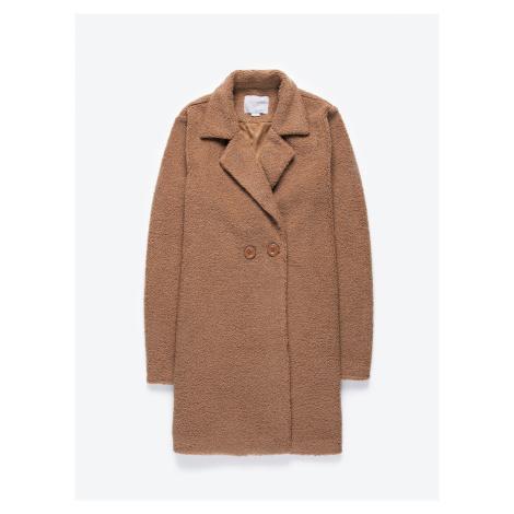 GATE Prodloužený chlupatý kabát