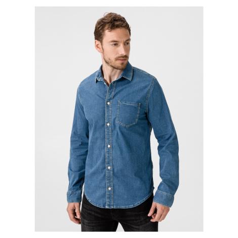 Portland Košile Pepe Jeans Modrá