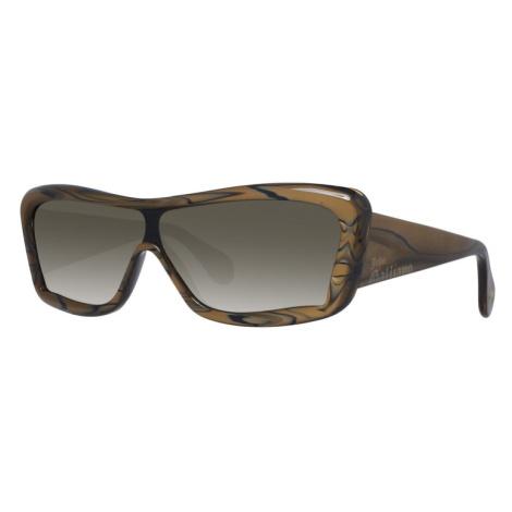 John Galiano sluneční brýle hnědé John Galliano
