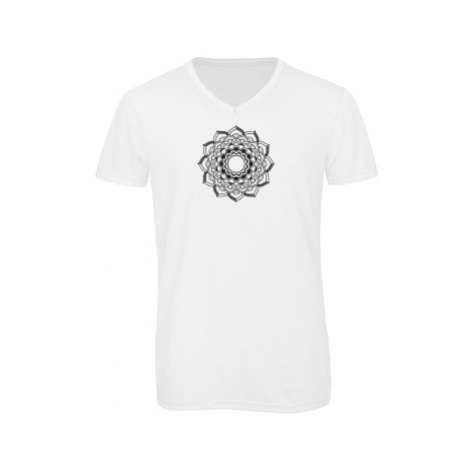 Pánské triko s výstřihem do V Mandala