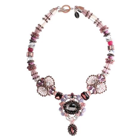 Tatami Woman's Necklace Wn2509P Purple