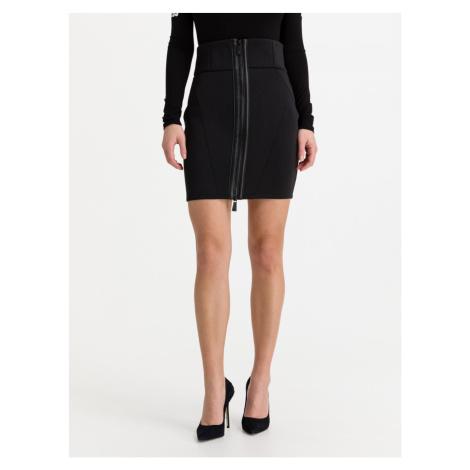 Guess GUESS dámská černá elegantní sukně SHEILA