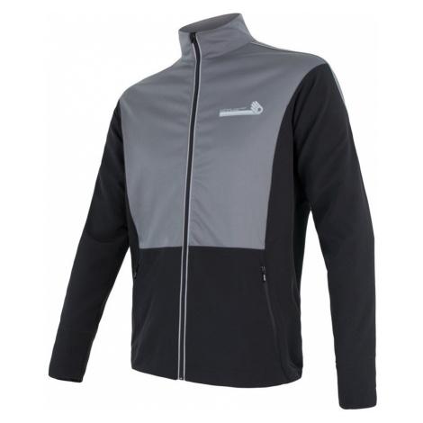 CROSS Pánská sportovní bunda 17200085 černá/šedá Sensor