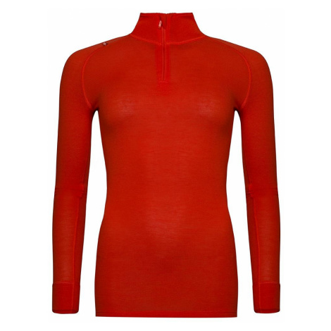 Dámské prádlo - triko Alpine Pro GENETA 2 - červeno-oranžová