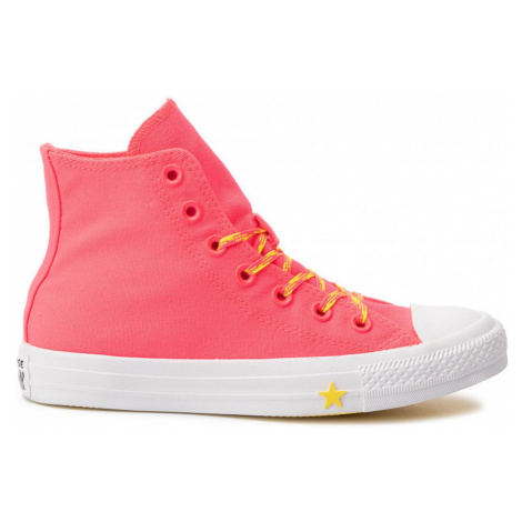 Converse CTAS HI Pink červené 564122C