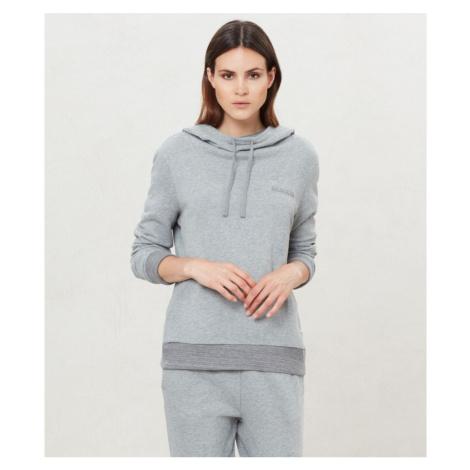 Napapijri NAPAPIJRI dámská fleece šedá mikina s kapucí