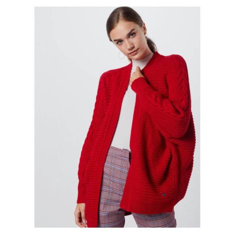 Pepe Jeans dámský červený kardigan Katty