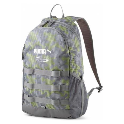 Batoh Puma Style Backpack Šedá / Zelená