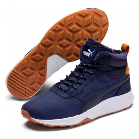 Puma ST ACTIVATE MID WTR tmavě modrá - Pánská zimní obuv