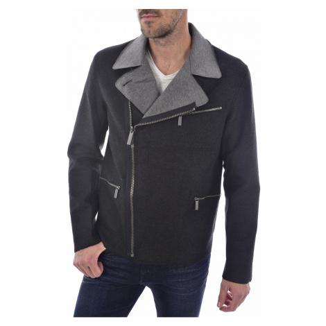 Calvin Klein Calvin Klein pánská oboustranná bunda - černá|šedá