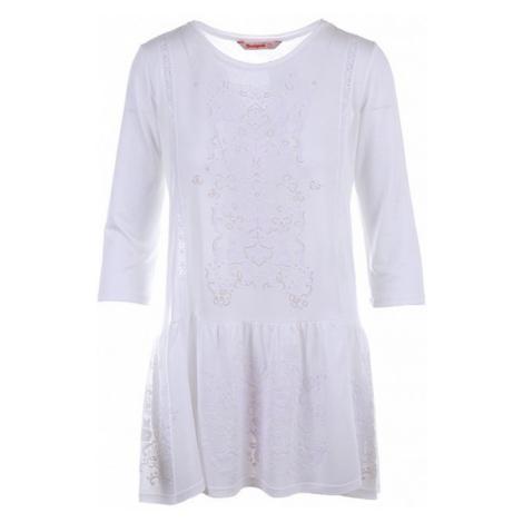 Desigual dámské tunika bílá