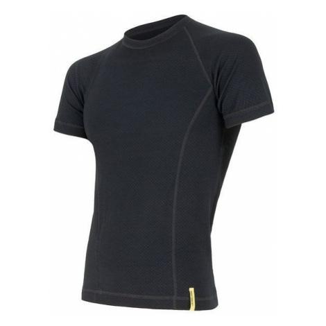 Pánské tričko SENSOR Merino DF černá