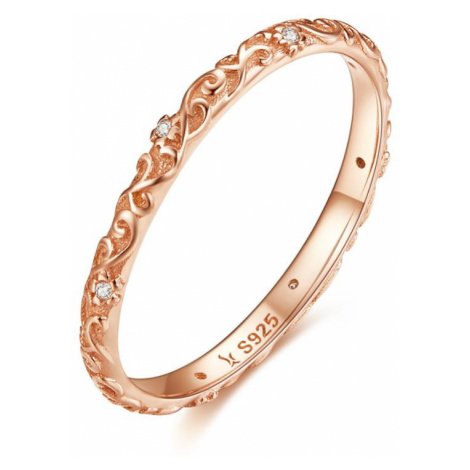 OLIVIE Stříbrný prsten VINTAGE ROSE 3446